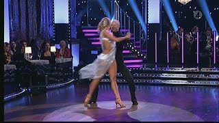 Stefan Sauk och Malin Johansson - rumba - Let's Dance (TV4)
