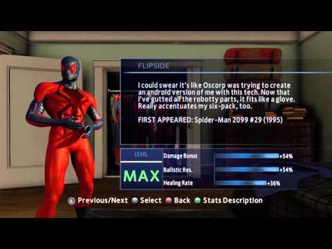 Новый Человек -паук 2 Все костюмы из игры