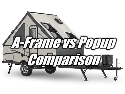 HaylettRV.com - A-Frame vs Traditional Popup Folding Tent Camper ...