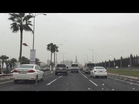 Doha City Drive I Commute I Al Sadd I Corniche I Qatar