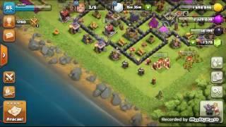 Clash of clans#ep4 farmando rainha arqueira nível 6