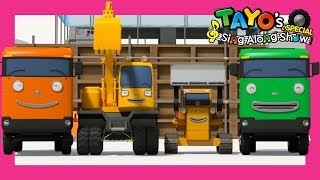 *NEW* Tayo Strong Heavy Vehicles Song l Hello Song l Tayo Sing Along Special l Strong Heavy Vehicles