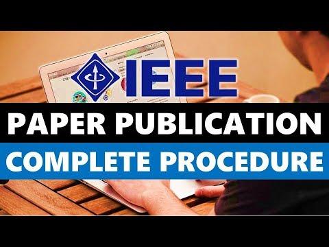 IEEE Paper Publishing Complete Procedure