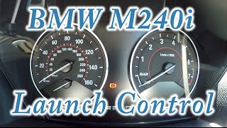 2017 bmw m240i launch control 0 100mph m140i