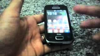 Como arrumar o touch screen do samsung young