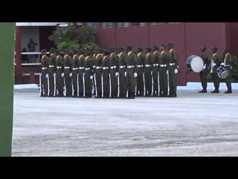 Barbados Defence Force Recruit Passing-out Parade
