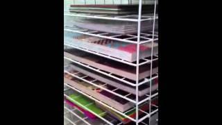 DIY Paper Rack Organizer/Storage