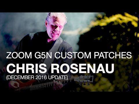 Chris Rosenau of Volcano Choir  Downloadable G5n Patches