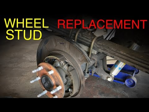 Wheel Stud Removal and Replacement (Complete Guide)