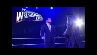 WWE Undertaker 35th Theme Song -- 2012 return Theme Song -- (bells + live cheers)