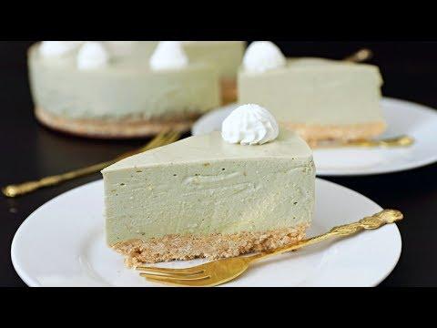 No-Bake Avocado Cheesecake Recipe