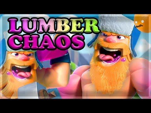 Lumberjack RUSH - BEST Decks For The Challenge 🍊