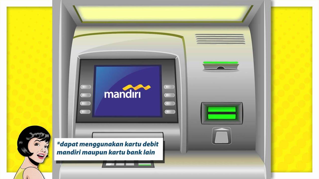 Tutorial Isi Ulang Mandiri E Cash Dari Atm Youtube Toll Money Card Premium
