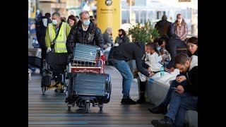 Several european union nations on sunday banned flights from the u.k. and germany was considering limiting such to make sure that a new strain of cor...