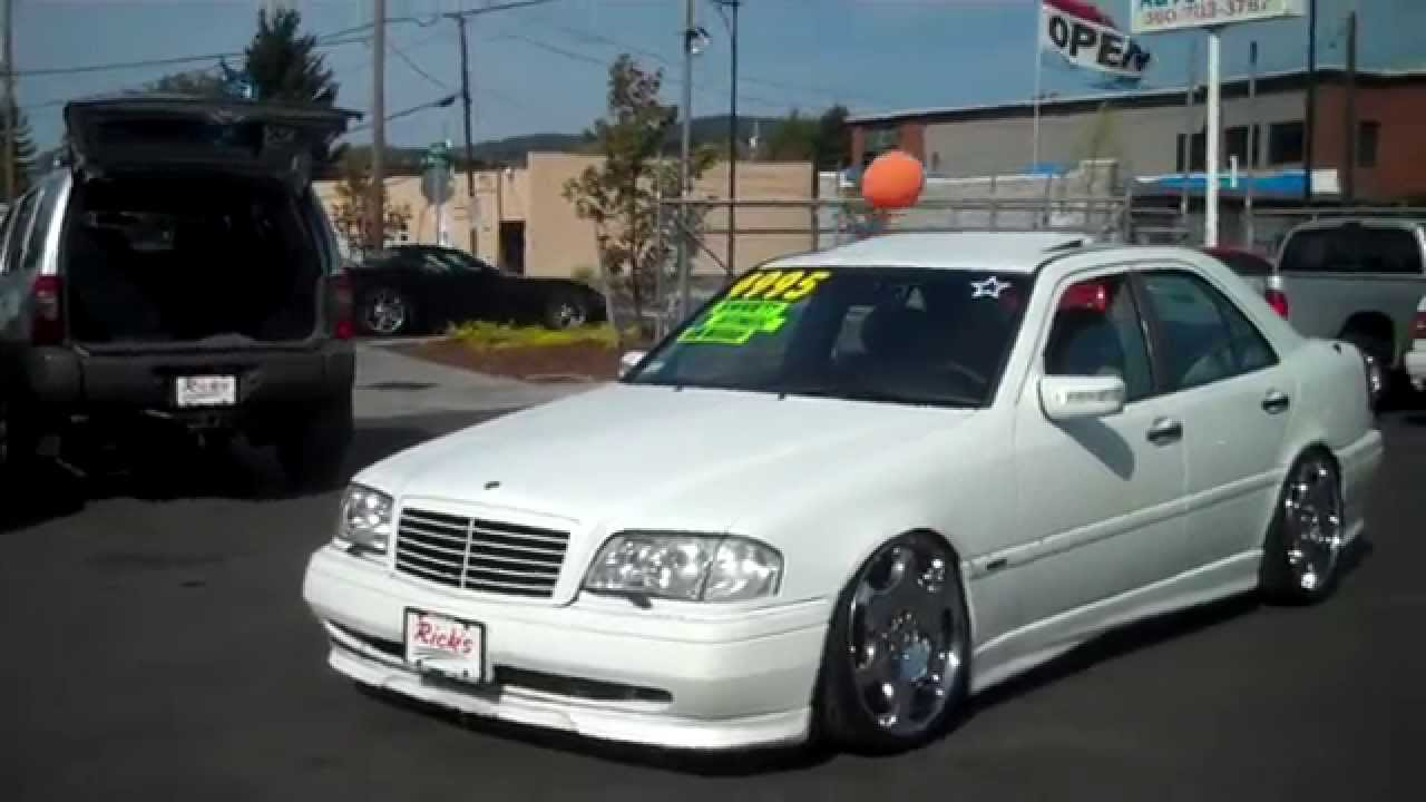 Ricks Auto Sales >> 1995 MERCEDES C220 CARLSSON SOLD!! - YouTube