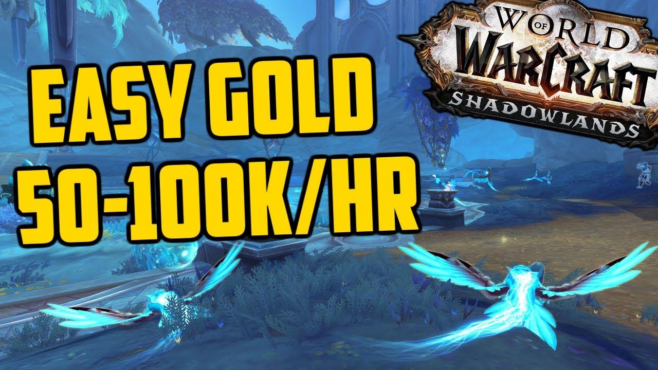 EASY 50-100k Gold per Hour Shadowlands Goldfarm! World Quest Skinning!