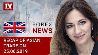 InstaForex tv news: 25.06.2019: JPY gains momentum amid US-Iran conflict (USDX, JPY, AUD)