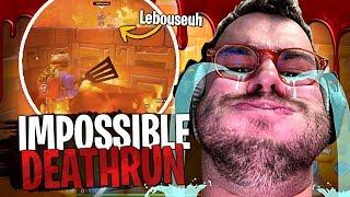 Lebouseuh pleure après avoir terminé ce Deathrun sur Fortnite Créatif !