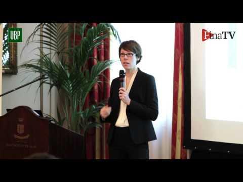 UBP conferenza a Milano di Christel Rendu de Lint (Parte 2)