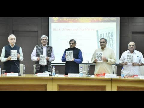 Release cum discussion on Black Money and Tax Havens authored by Prof R Vaidyanathan