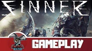 SINNER: Sacrifice for Redemption Switch Gameplay-PUNISHING!