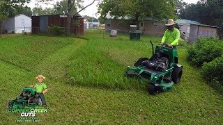 Typically Tall Grass Totally Tries To Test BOB-CAT QuickCat 4000 Mower
