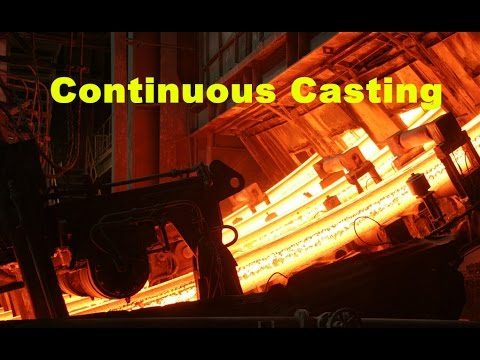 continuous casting machine billet caster equipment round steel slab cast