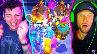 we took ALL AIR DECKS into TRIPLE ELIXIR 2v2 in CLASH ROYALE.....