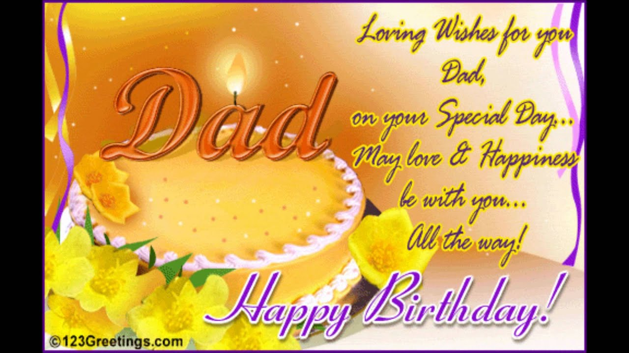 Happy Birthday Dad ITS MY DADDY BIRTHDAY