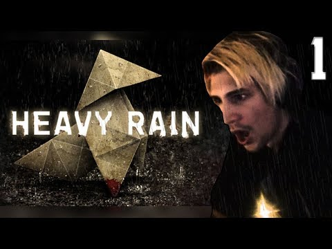 XQc PLAYS HEAVY RAIN W/CHAT #1