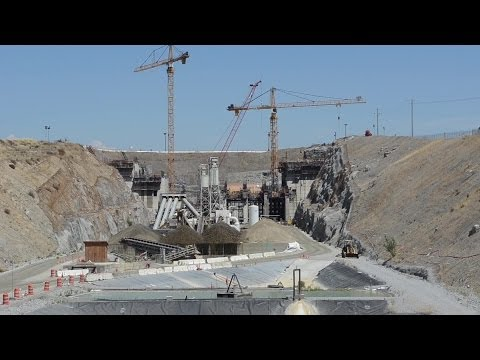 Army Corps of Engineers - Tour of New Folsom Dam Construction, Sept. 2013