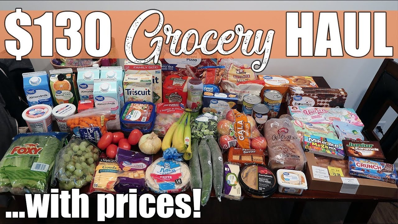 130 Walmart Grocery Pickup Haul With Prices Unicorn