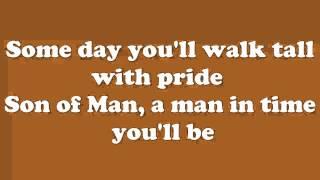 Tarzan -  Son of Man lyrics