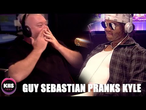 Guy Sebastian in disguise PRANKS Kyle