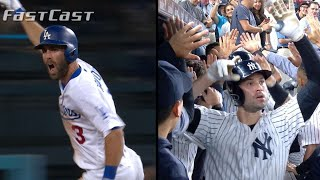 MLB.com FastCast: Dodgers, Yankees win with homers - 9/18/18
