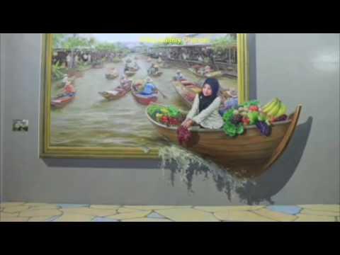 Seruuuu... Selfie 3D Museum Art World Bandung