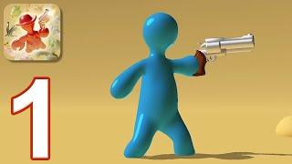 Gumslinger - Gameplay Walkthrough Part 1 - Tutorial (iOS, Android)