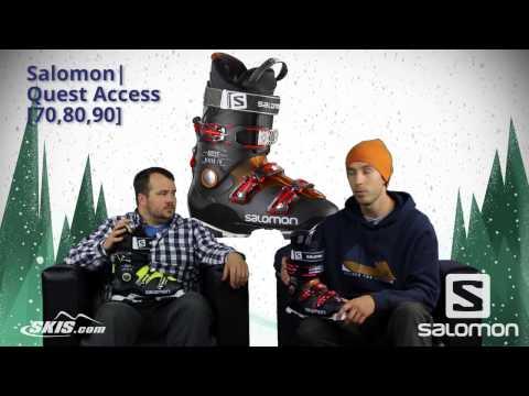 2017 Salomon Quest Access 70, 80, and 90 Mens Boot Overview
