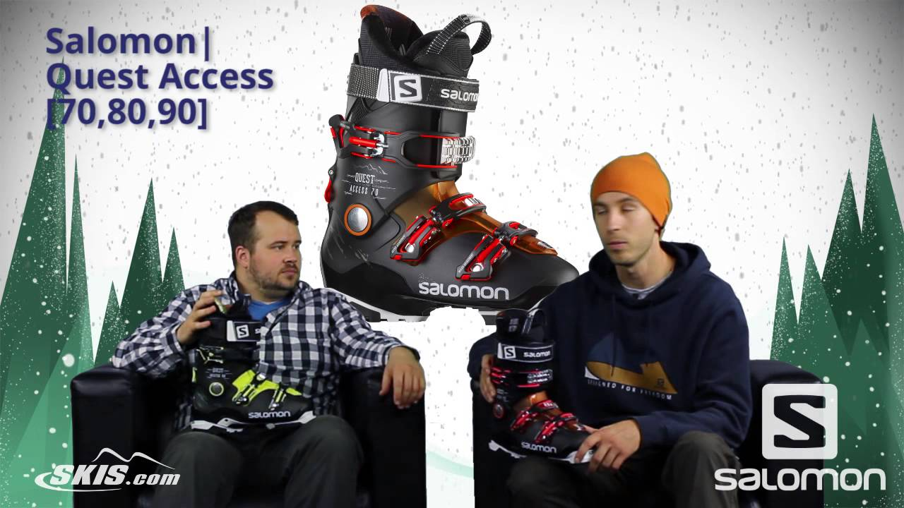 how to buy entire collection various design 2017 Salomon Quest Access 70, 80, and 90 Mens Boot Overview by SkisDotCom