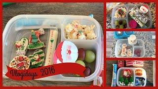 School Lunch Ideas! Christmas lunch Ideas Ep.17 | Vlogidays 2016