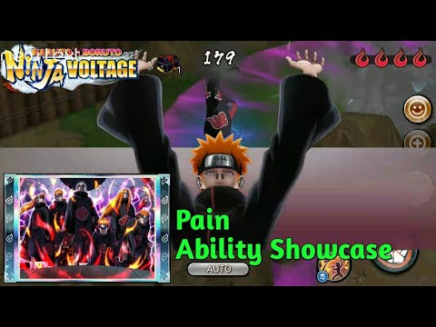 Solo AM Pain | Naruto X Boruto Ninja Voltage