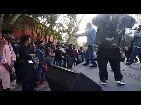 Sun J & Khatarnaak Hip-Hop Collective   Chillen Wala Scene   Live Delhi