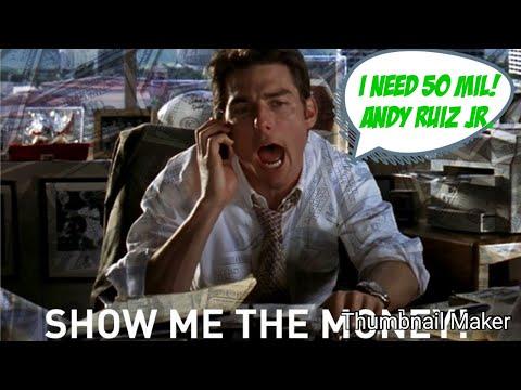 Andy Ruiz already looking over Anthony Joshua wants Wilder fight. Ruiz wants 50 mil n UK rematch!