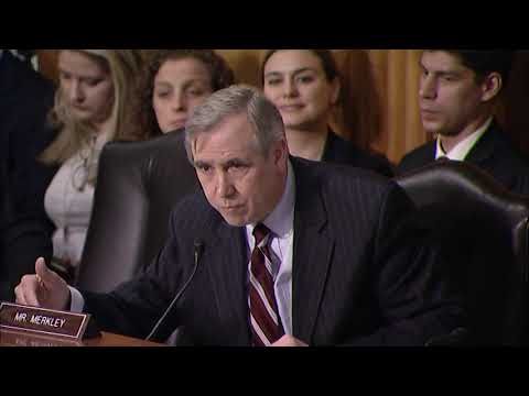 Oregon Sen. Jeff Merkley asks Saudi ambassador nominee about missing students