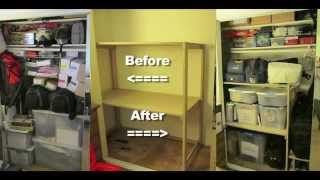 Going In The Closet! Diy Custom Shelves