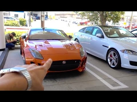 PICKING UP A NEW JAGUAR!