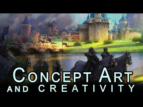 Concept Art Illustration And Creative Psychology