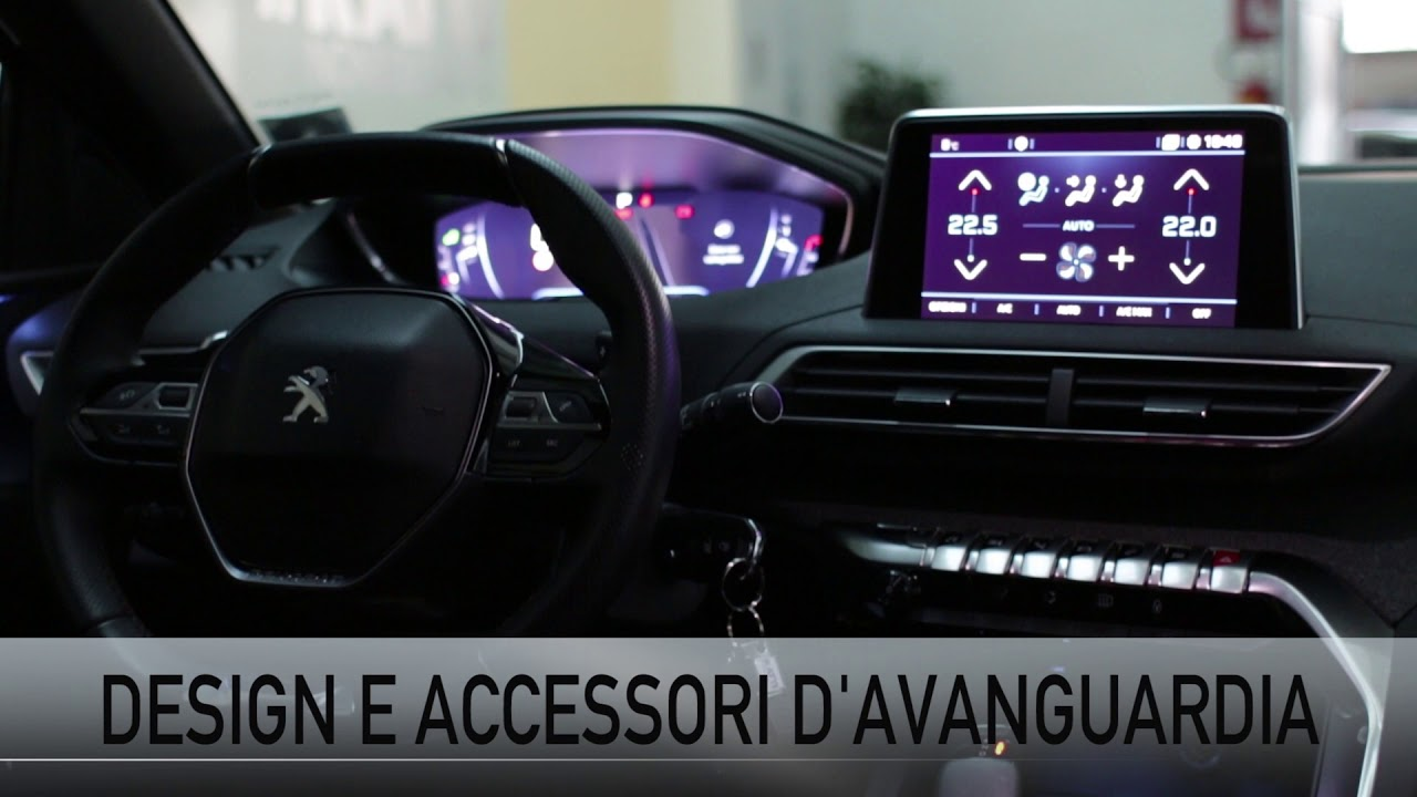 Nuova Peugeot 3008 GT lIne - Gardala da vicino... interni e test drive! - YouTube