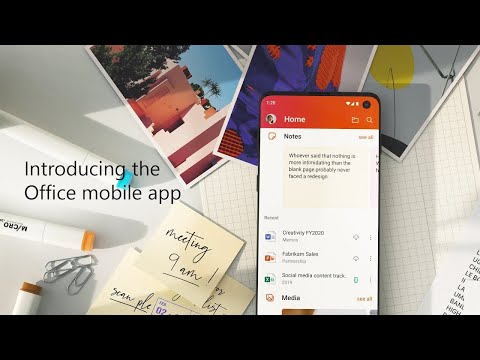 Introducing the Office mobile app