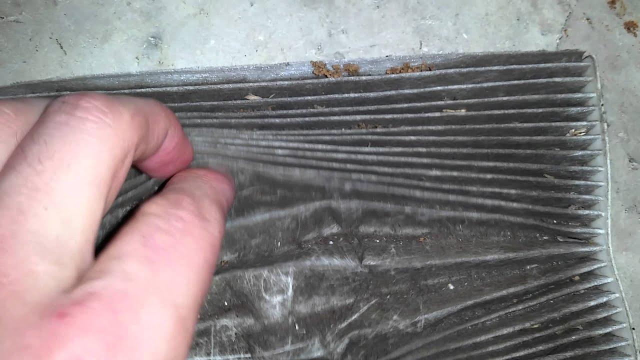 2013 kia forte sedan checking hvac cabin air filter element after 30 000 miles